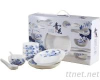 瓷盤, 瓷碗組